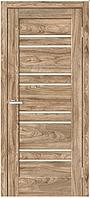 Дверное полотно Рино 01 G NL дуб Ориндж, фото 1