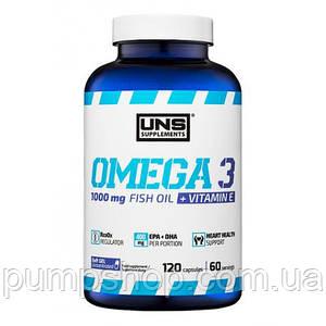 Рыбий жир Омега-3 UNS Omega 3 120 капс.