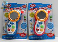 Музыкальная игрушка детская развивающий Телефон