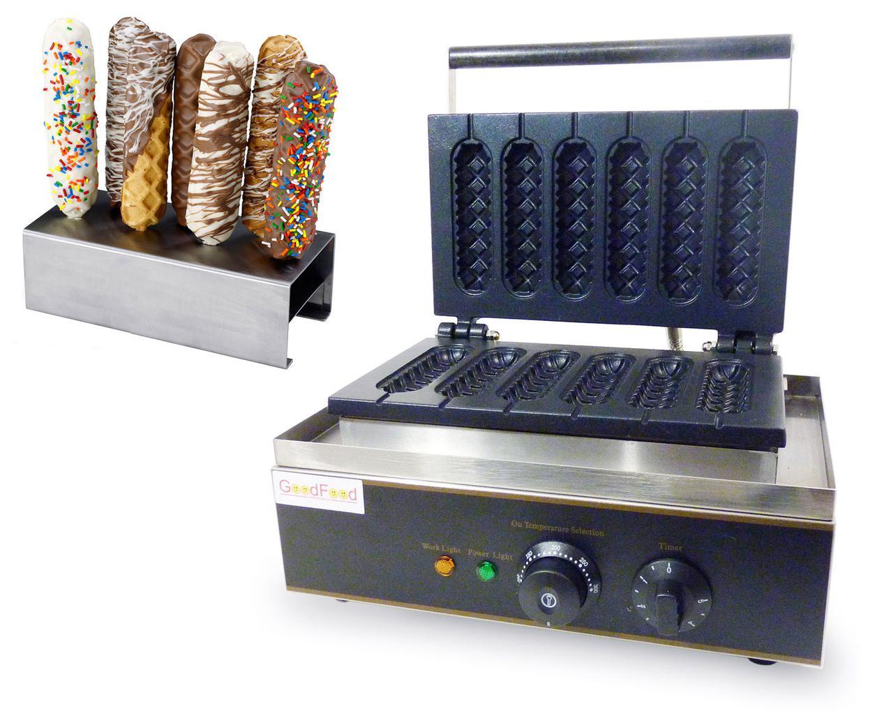 Апарат КОРН-ДОГИ для приготування вафлі на паличці GoodFood CM6
