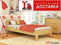 Ліжко Рената 200*80 бук Естелла (ЩИТ), фото 1