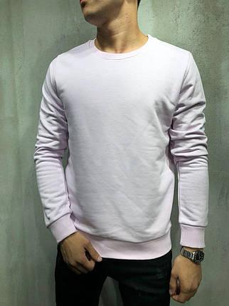 Мужская кофта свитшот белая, фото 2