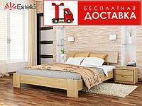 Ліжко Титан 200*120 бук Естелла (ЩИТ), фото 1