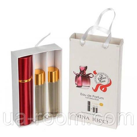 Мини-парфюм женский Nina Ricci Ricci Ricci, 3х15 мл, фото 2