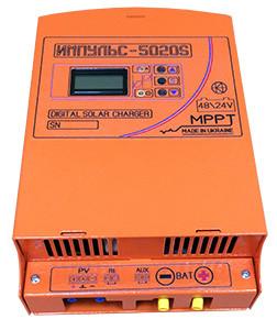 PV Контроллер заряда ИМПУЛЬС-5020S 60A 48V MPPT 200V