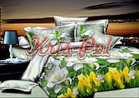 """Двуспальный набор постельного белья 180*220 из Ранфорса ТМ"""" KRISPOL """""""