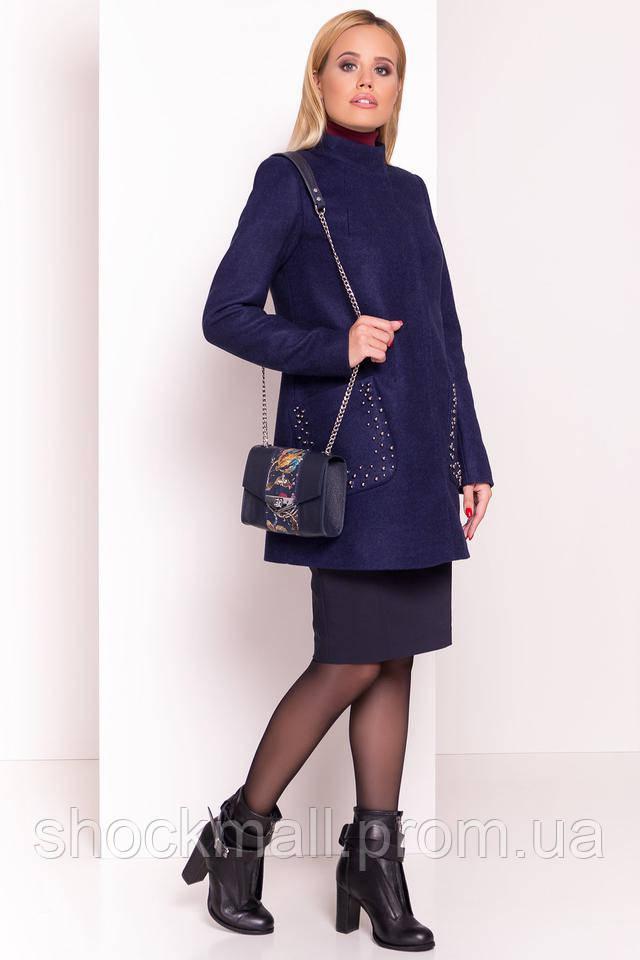 43f9258a184 Женское пальто короткое осеннее
