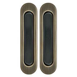 Ручки для раздвижных дверей, комплект Siba Бронза