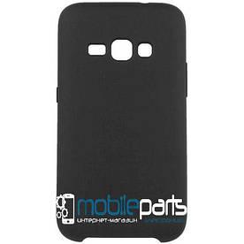Силиконовый Чехол для Samsung Galaxy J1 J120 2016 Silicone Case (Черный)