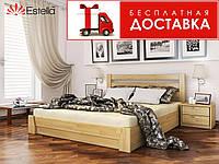 Кровать Селена 190*180 бук Эстелла (ЩИТ) с механизмом, фото 1