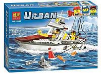 """Конструктор Bela 10646 Urban (аналог Lego City 60147) """"Рыболовный катер"""", 160 деталей"""