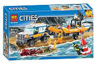 """Конструктор Bela 10753 """"Внедорожник 4х4 команды быстрого реагирования"""" (аналог Lego City 60165), 367 деталей"""