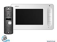 Комплект видеодомофона ARNY AVD-4005 (Белый+серый)