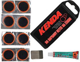 Комплект латок ремкомплект велосипедный Kenda Express (A-PZ-0067)