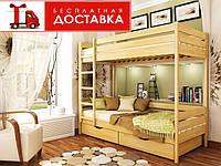 Кровать 2-х ярусная 90*200 Дуэт бук Эстелла (ЩИТ), фото 1