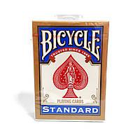 Карты для фокусов и покера Bicycle Standard (standart, Rider back) Синие, фото 1