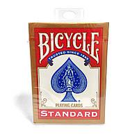 Карты для покера и фокусов Bicycle Standard (standart, Rider back) Красные