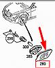 Указатель поворота переднего бампера Mercedes-Benz S-Class W221 Новый Оригинальный , фото 2