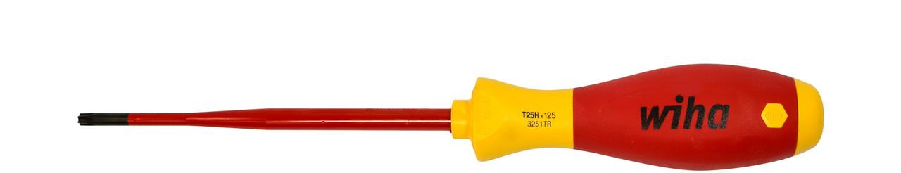 Дієлектрична викрутка TORX з отвіром T10Н x 100 мм VDE slimFix