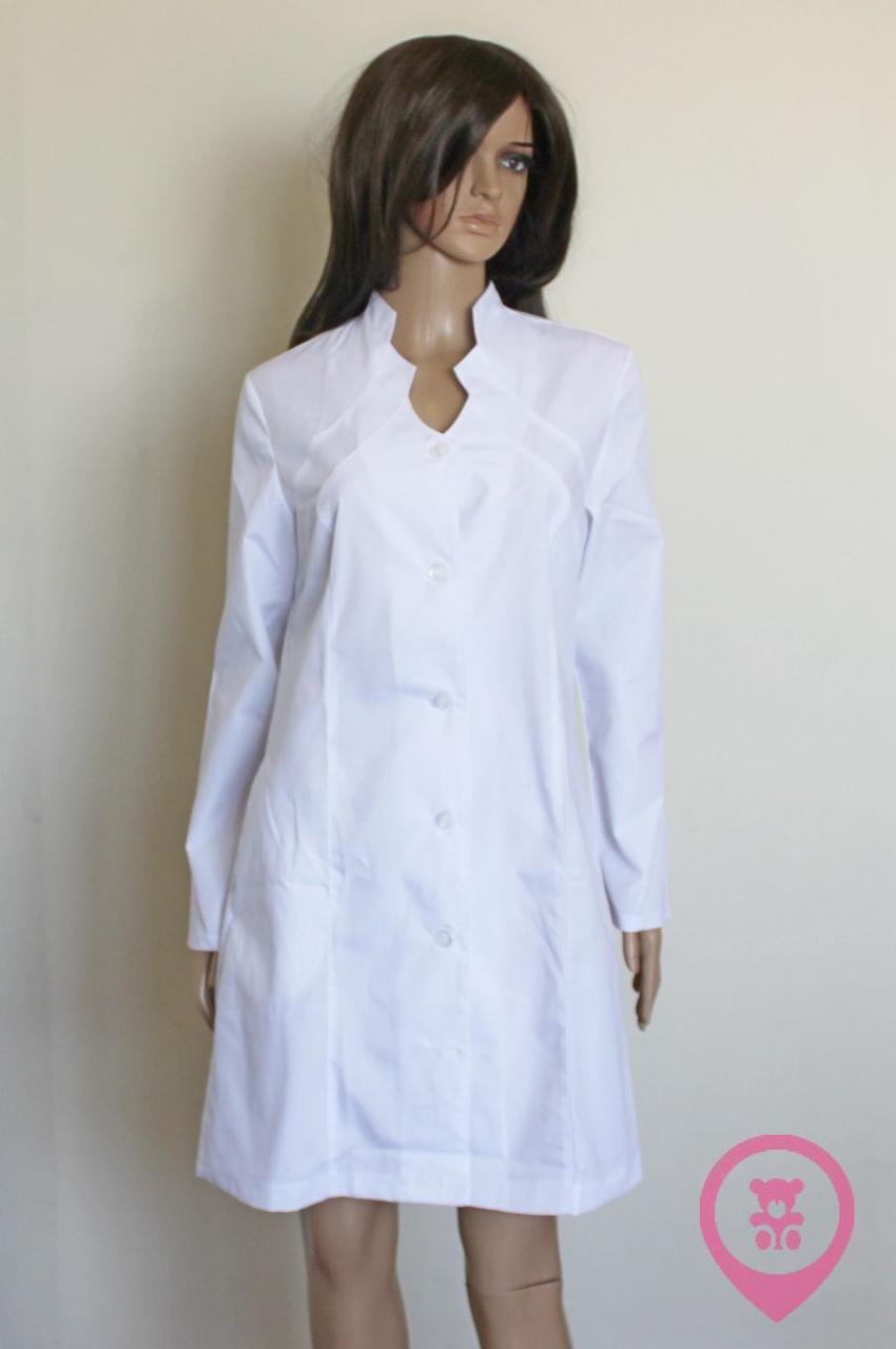 Медицинский женский халат SM 9143-1 Rada ХБ