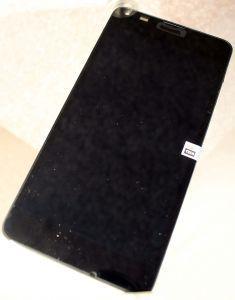 Дисплей с тачскрином Nokia 640 Lumia RM-1077 черный в рамке (HQ)