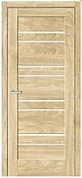 Дверное полотно Рино 01 G NL дуб Саванна
