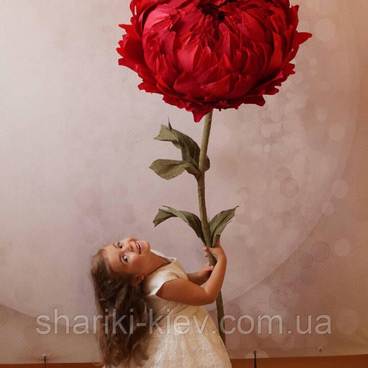 Большие цветы Стойка с Пионом Продажа