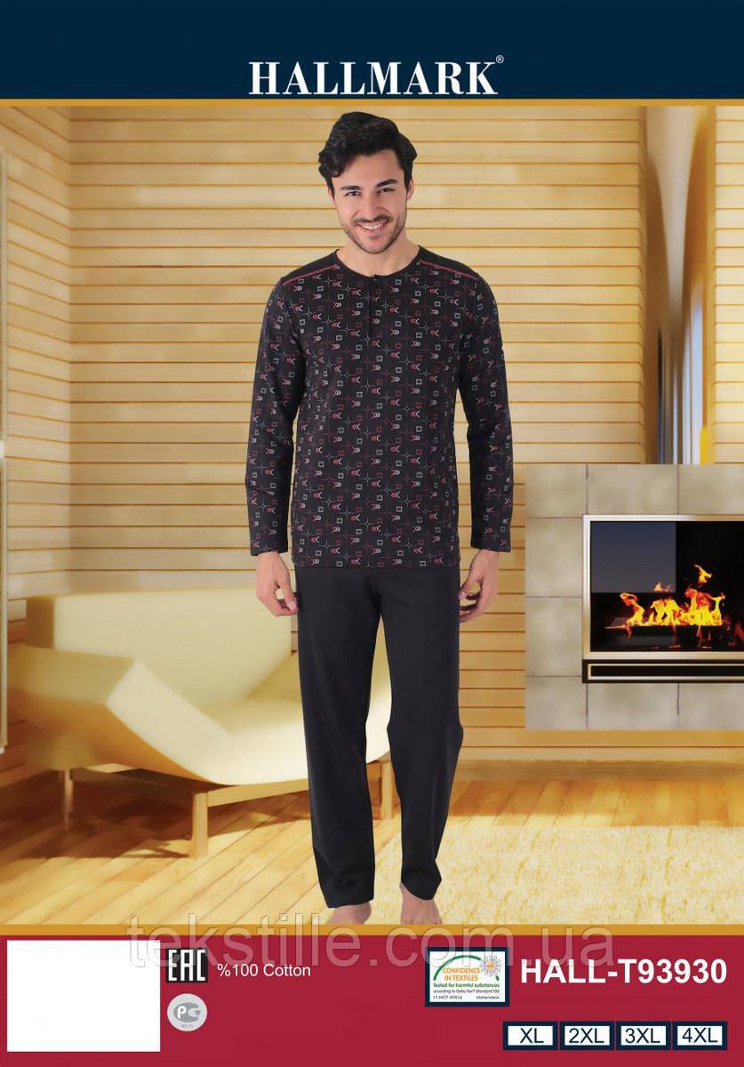 Пижама мужская Байка (XL-4XL)