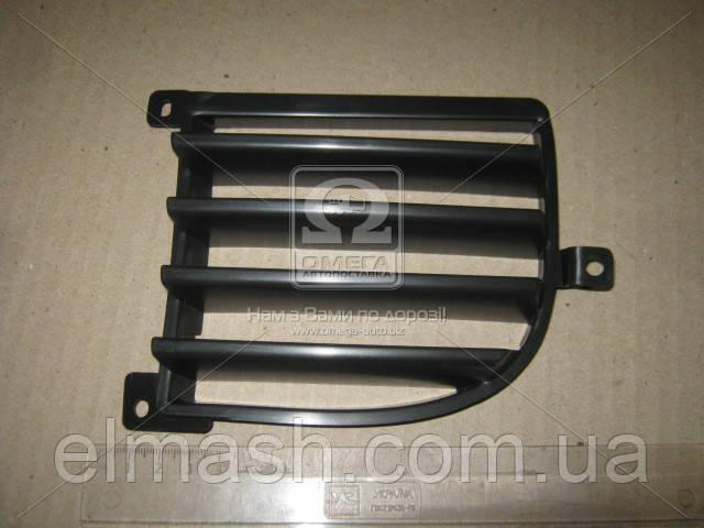 Решетка бампера правая Mitsubishi Outlander I -07 (TEMPEST)