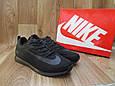 Мужские Кроссовки в стиле Nike Lunar Rider черные плотная сетка, фото 3