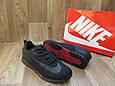 Мужские Кроссовки в стиле Nike Lunar Rider черные плотная сетка, фото 4