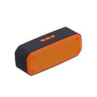 Радиоприемник колонка с Bluetooth SCL-309 оранжевая