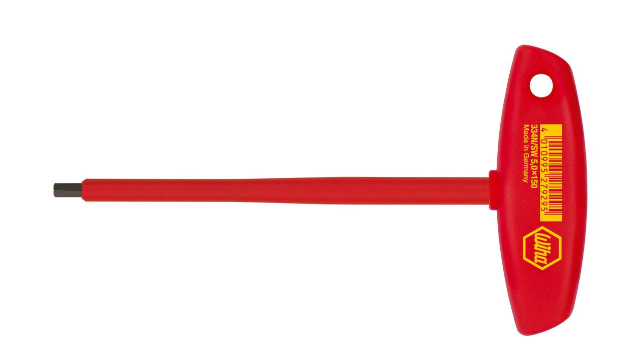 Шестигранна викрутка Classic з Т-подібною ручкою SW 4,0x150 VDE