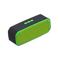 Радиоприемник колонка с Bluetooth SCL-309 зеленая