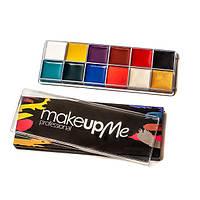 Профессиональная палитра грима 12 оттенков  - Make Up Me GRS12 - GRS12