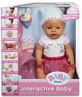 Кукла интерактивная Baby Born Бэби Борн Zapf Creation оригинал 43 см