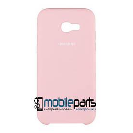 Силиконовый Чехол для Samsung Galaxy A5 A520 2017 Silicone Case (Розовый)