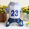 """Комбинезон, костюм джинсовый """" Fashion-23"""" для собаки. Одежда для собаки, фото 2"""