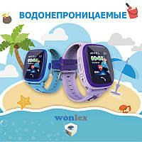 Детские GPS часы Smart Baby Watch DF25 Wonlex (GW400s) с рисунком на ремешке, фото 1