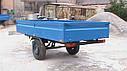 Прицеп одноосный для мини - трактора. Самосвал., фото 3