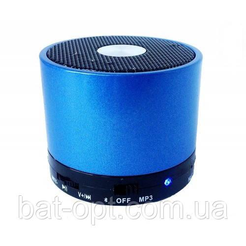 Радиоприемник колонка с Bluetooth S10U Small синяя
