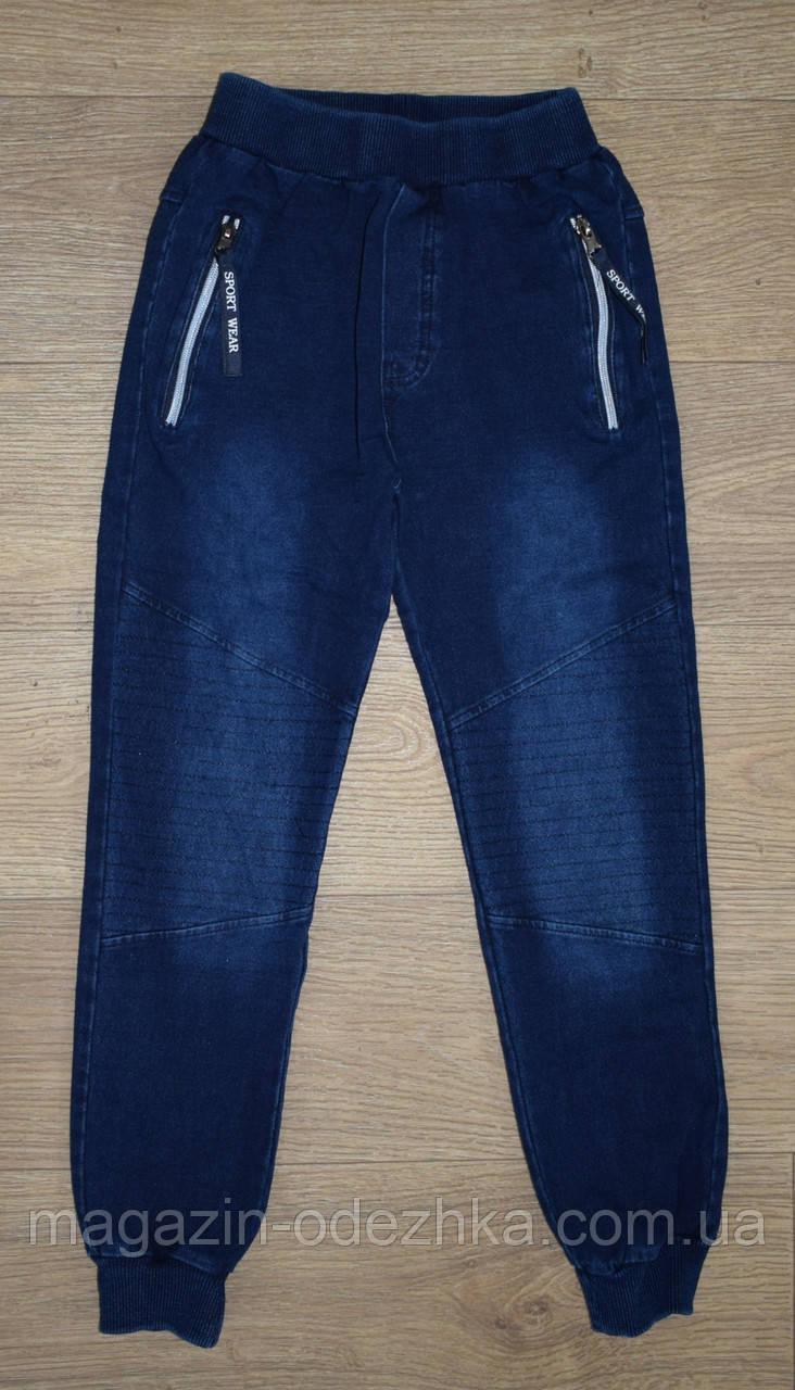 """Штани під джинс на хлопчика 8-10-12-14-16 років, """"F&D"""" Угорщина"""