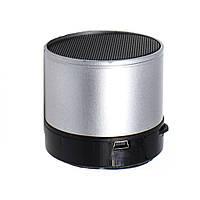 Радиоприемник колонка с Bluetooth S10U Small стальная