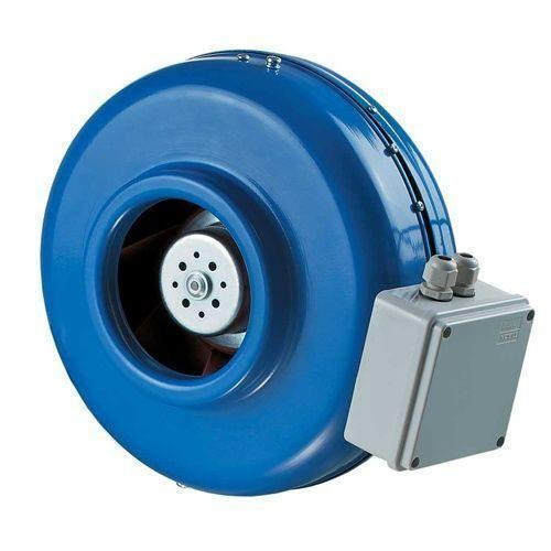 Круглый канальный вентилятор Вентс ВКМ 200 ЕС (бурый короб)