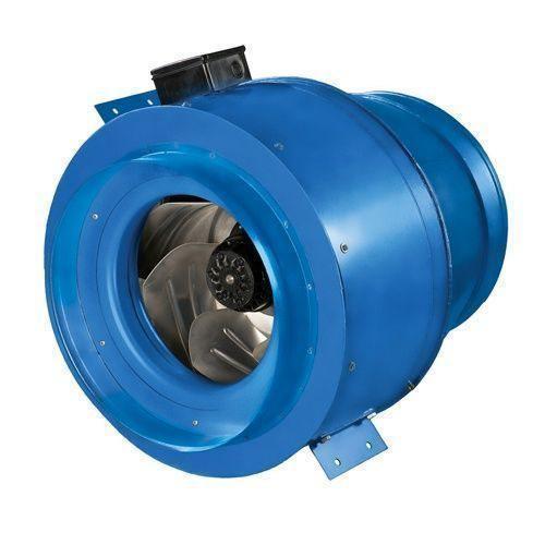 Круглый канальный вентилятор Вентс ВКМ 450 (бурый короб)