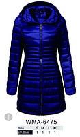 Оригинал Куртка/Парка Женская GloStory AW18 WMA-6475 Blue Синяя