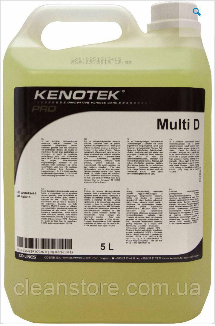 Очиститель салона Kenotek MULTI D, 5 л.