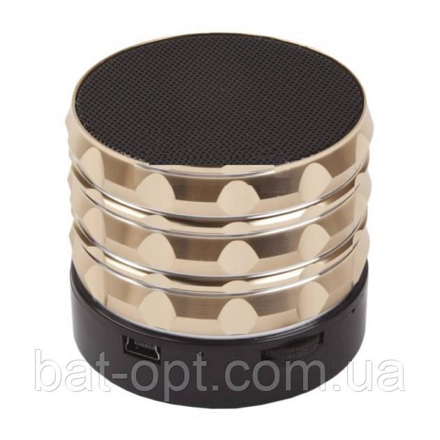 Радиоприемник колонка с Bluetooth S16 золото