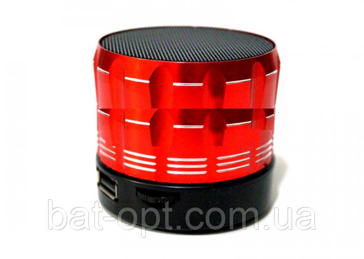 Портативная колонка с Bluetooth S16 красная