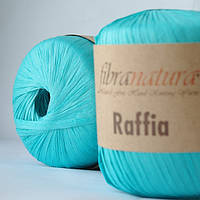 Raffia Fibranatura для плетения сумок и шляп лазурь